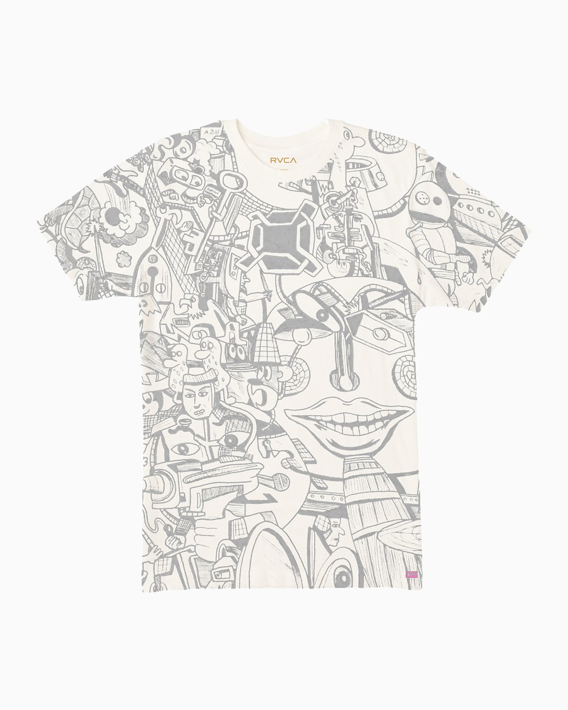 0 Grillo World T-Shirt  M430SRGR RVCA