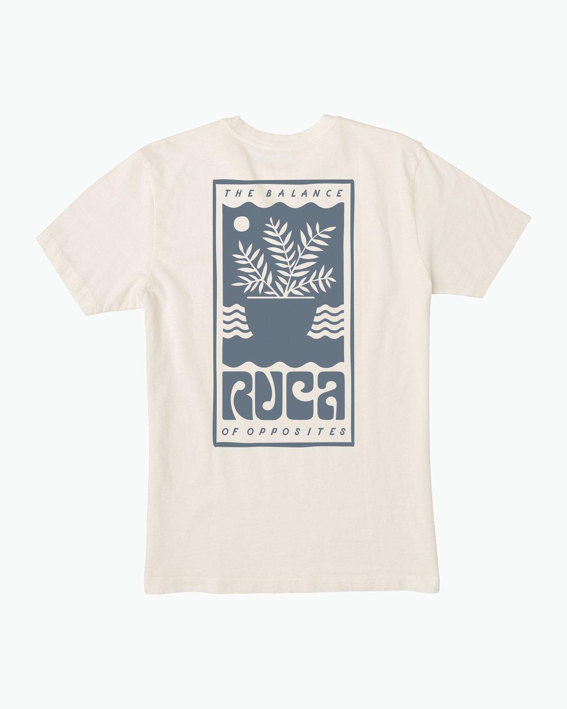 0 House Plant T-Shirt  M430SRHO RVCA
