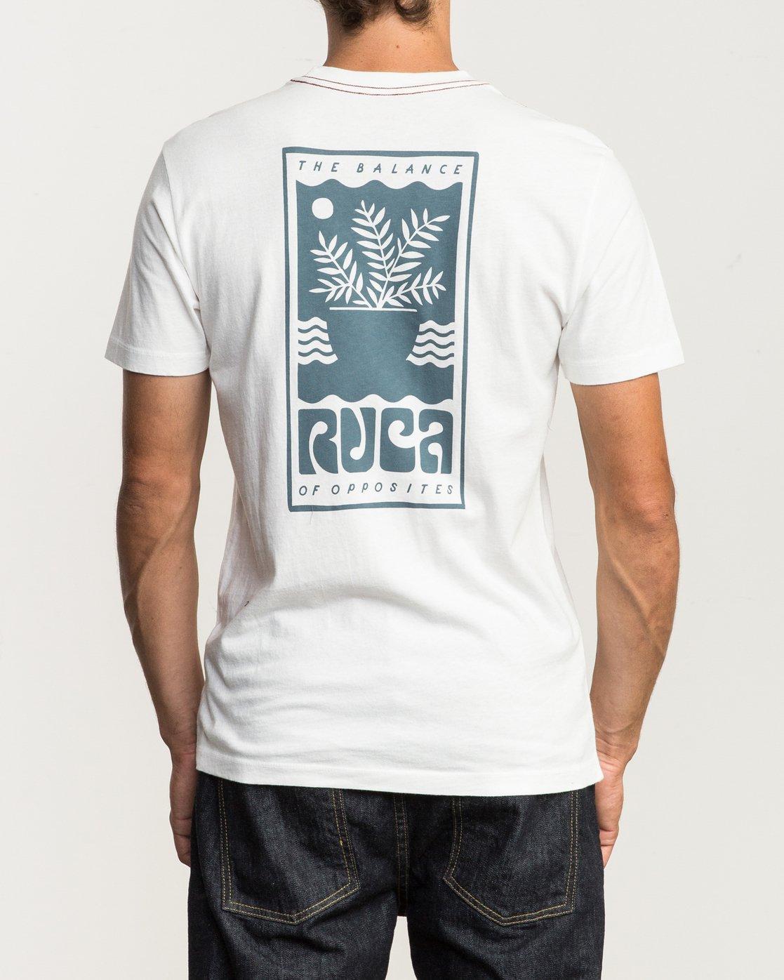 4 House Plant T-Shirt  M430SRHO RVCA