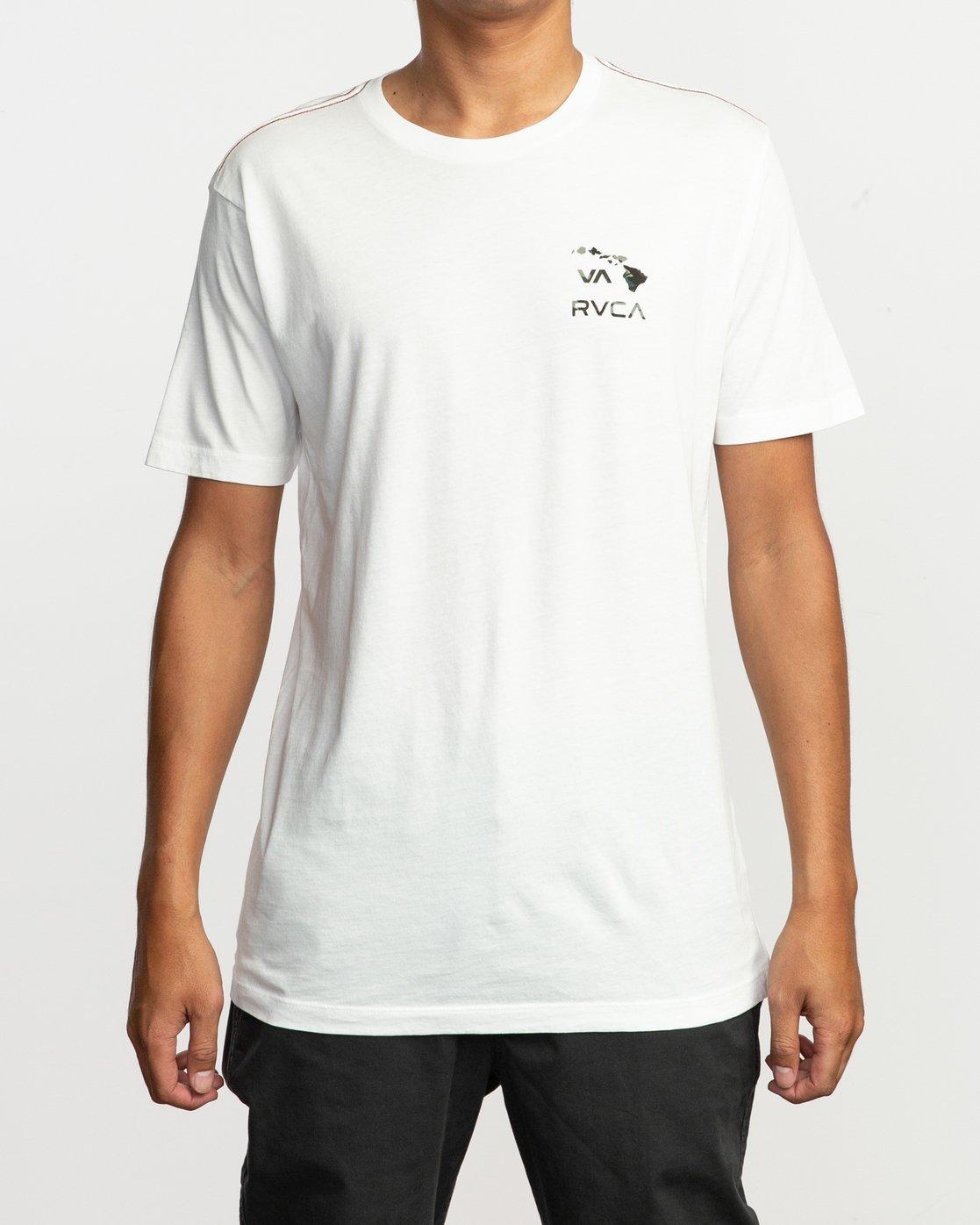 1 VA Islands T-Shirt  M430SRIS RVCA