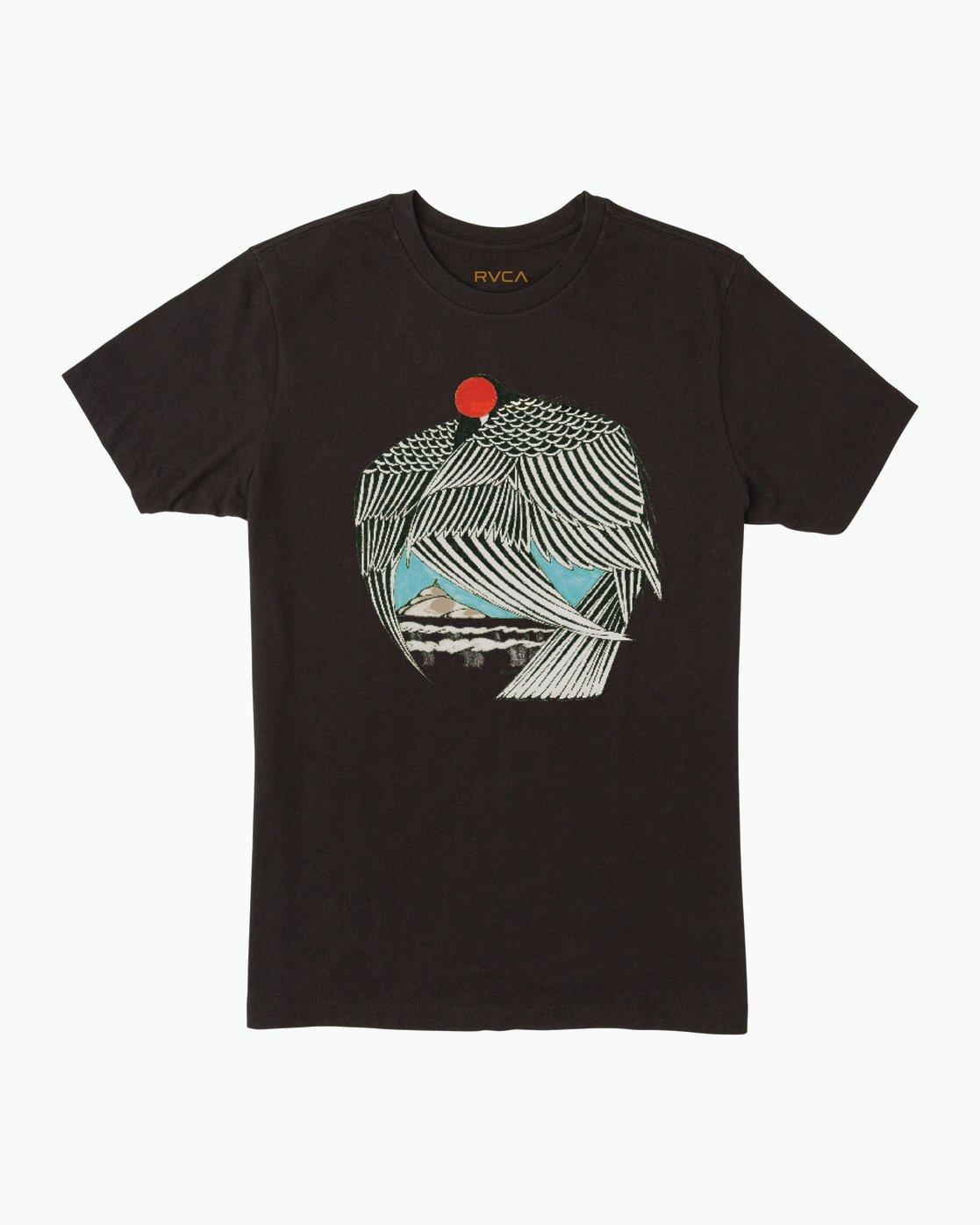 0 Alex Matus T-Shirt Black M430SRMA RVCA