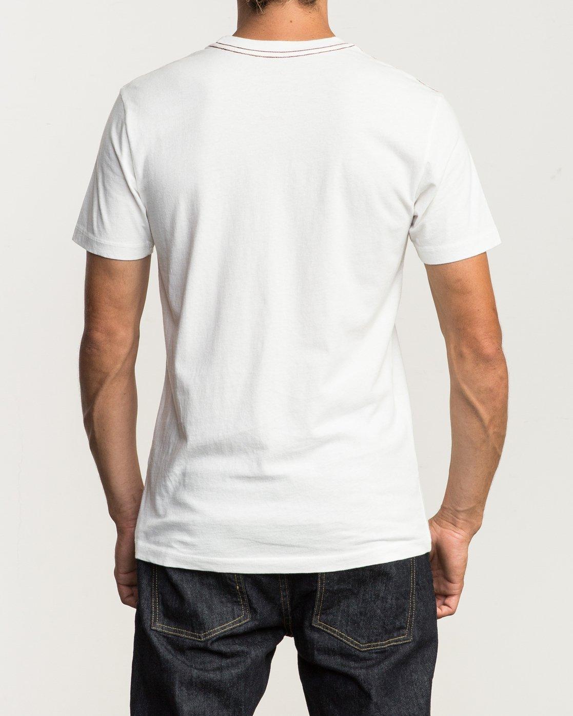 3 VA RVCA Fill T-Shirt  M430SRVA RVCA