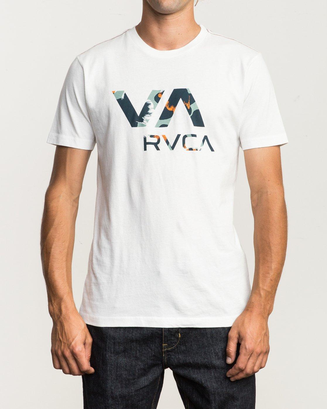 1 VA RVCA Fill T-Shirt  M430SRVA RVCA