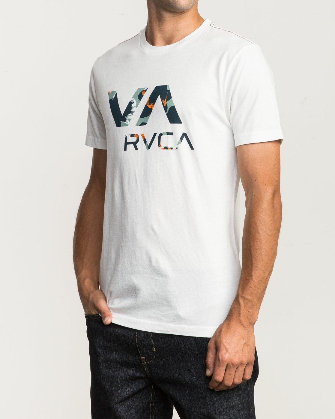 2 VA RVCA Fill T-Shirt  M430SRVA RVCA