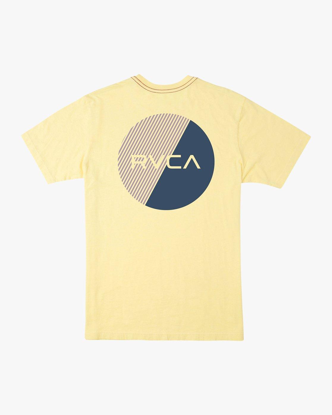 0 Blind Motors T-Shirt Yellow M430TRBL RVCA