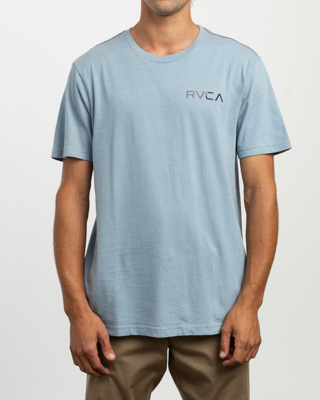 2 Blind Motors T-Shirt Blue M430TRBL RVCA