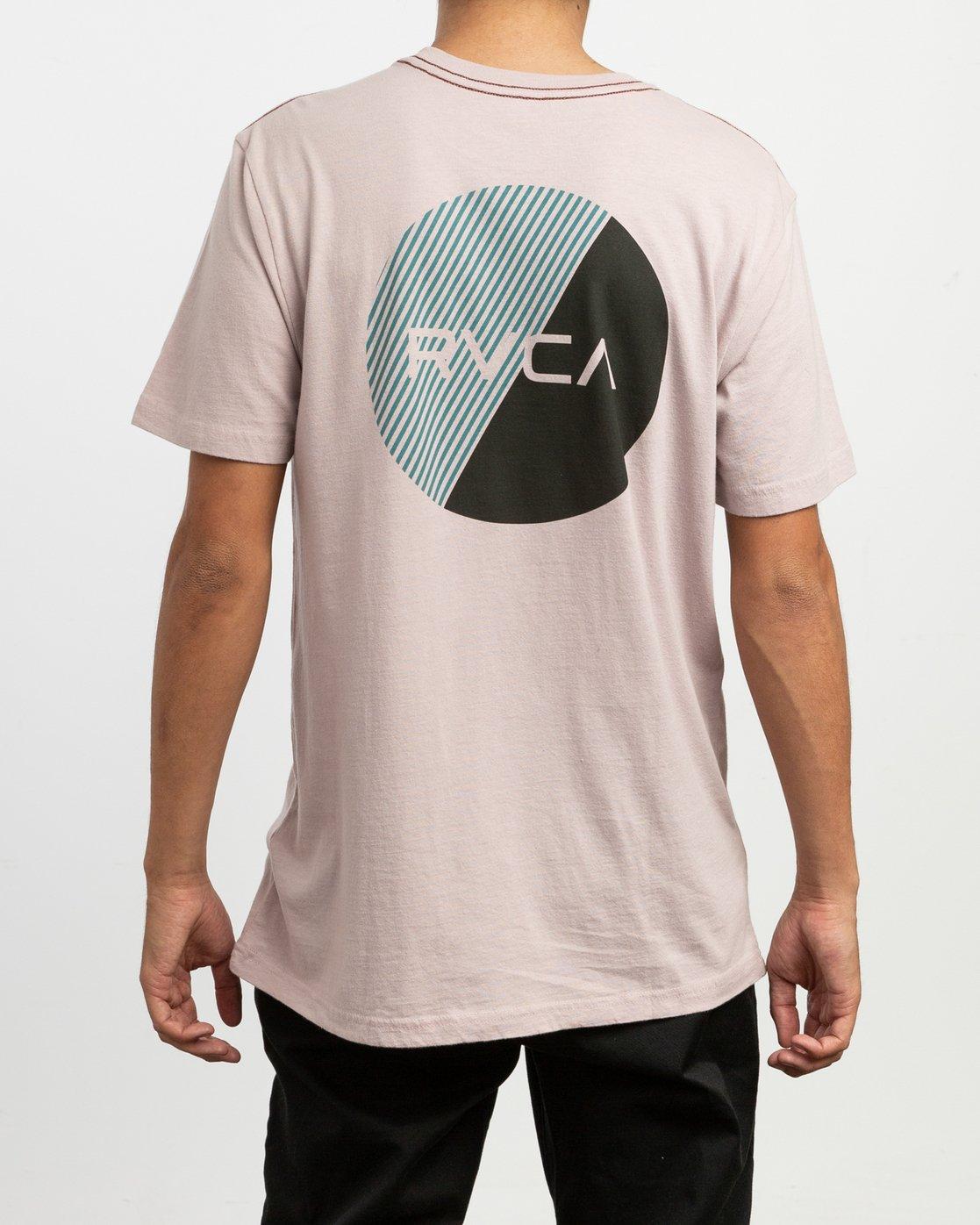 4 Blind Motors T-Shirt Pink M430TRBL RVCA