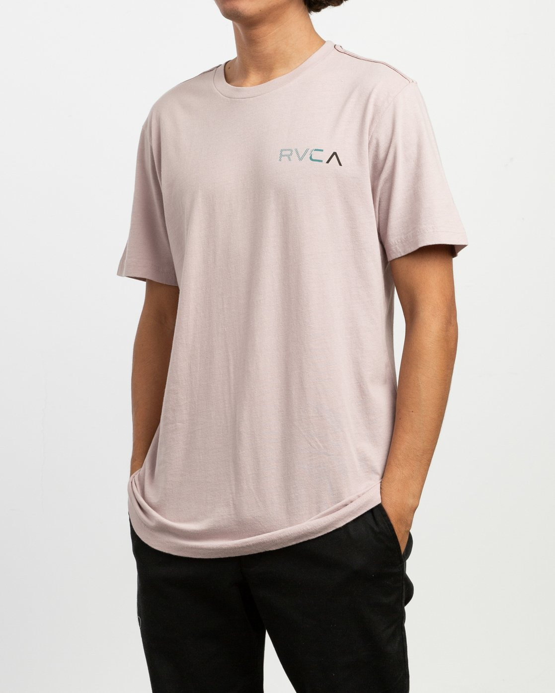 3 Blind Motors T-Shirt Pink M430TRBL RVCA