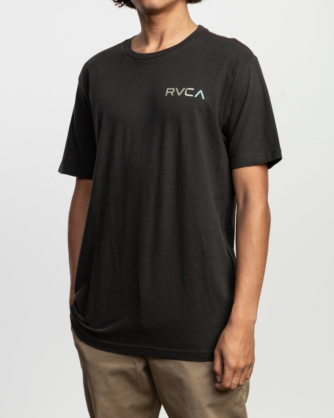 3 Blind Motors T-Shirt Black M430TRBL RVCA