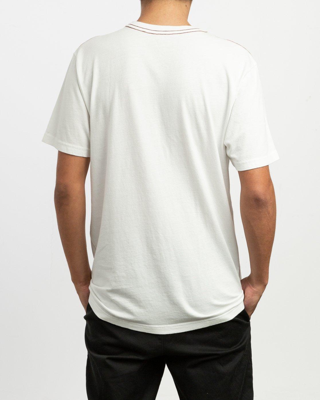 3 Castaway T-Shirt  M430TRCA RVCA