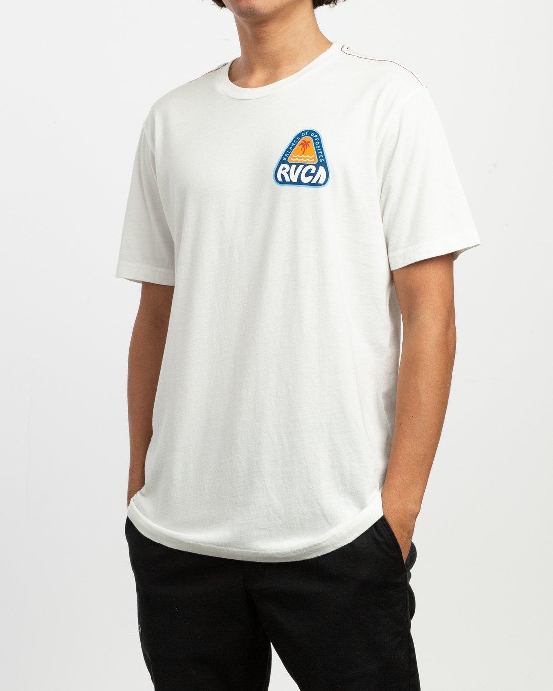 2 Castaway T-Shirt  M430TRCA RVCA