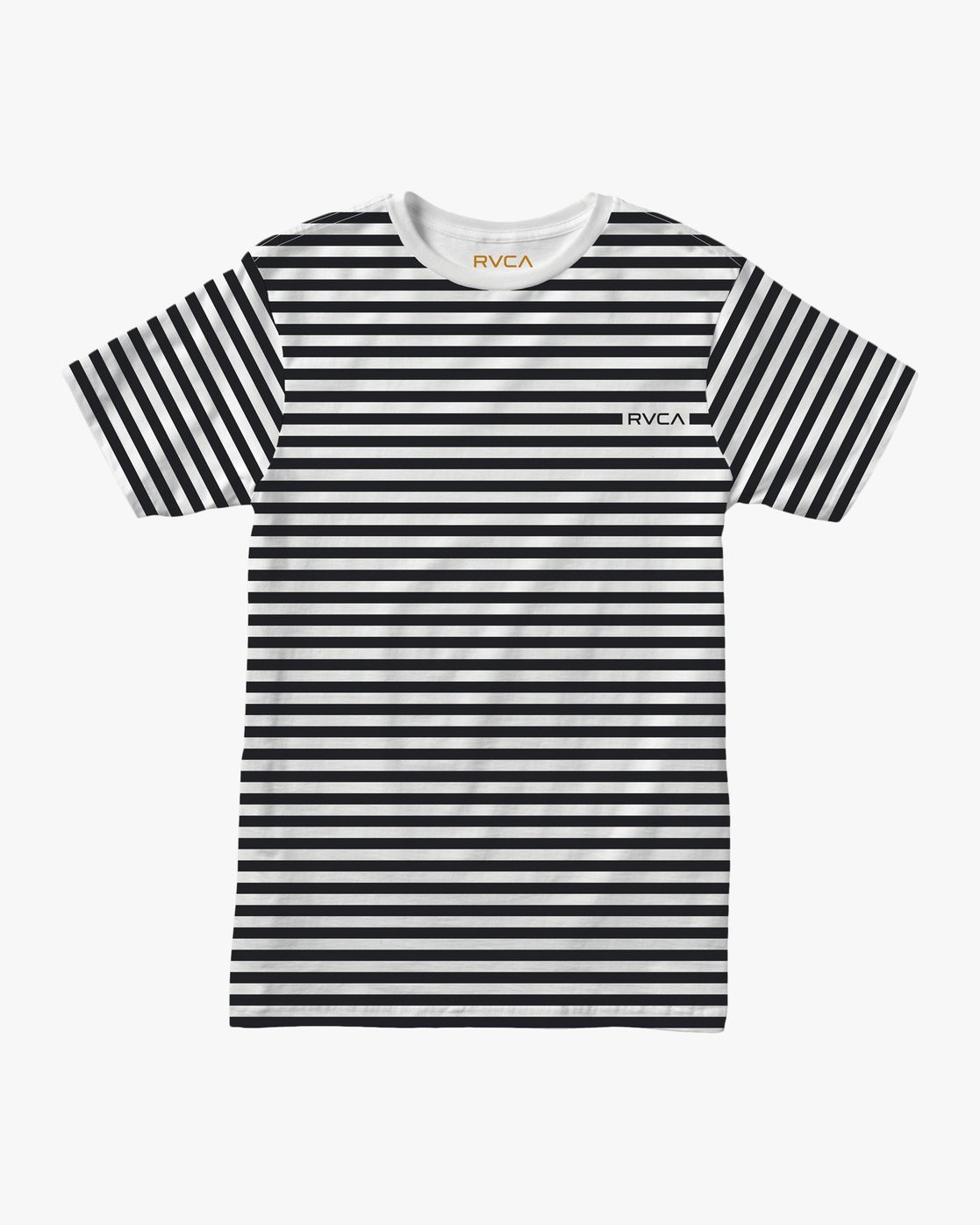 0 House Stripes T-Shirt  M430TRHO RVCA