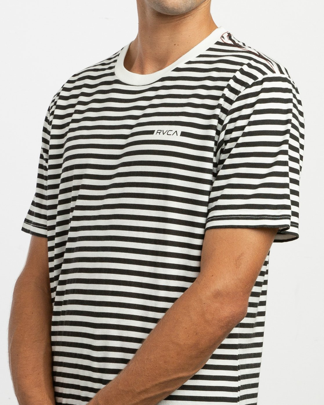 4 House Stripes T-Shirt  M430TRHO RVCA