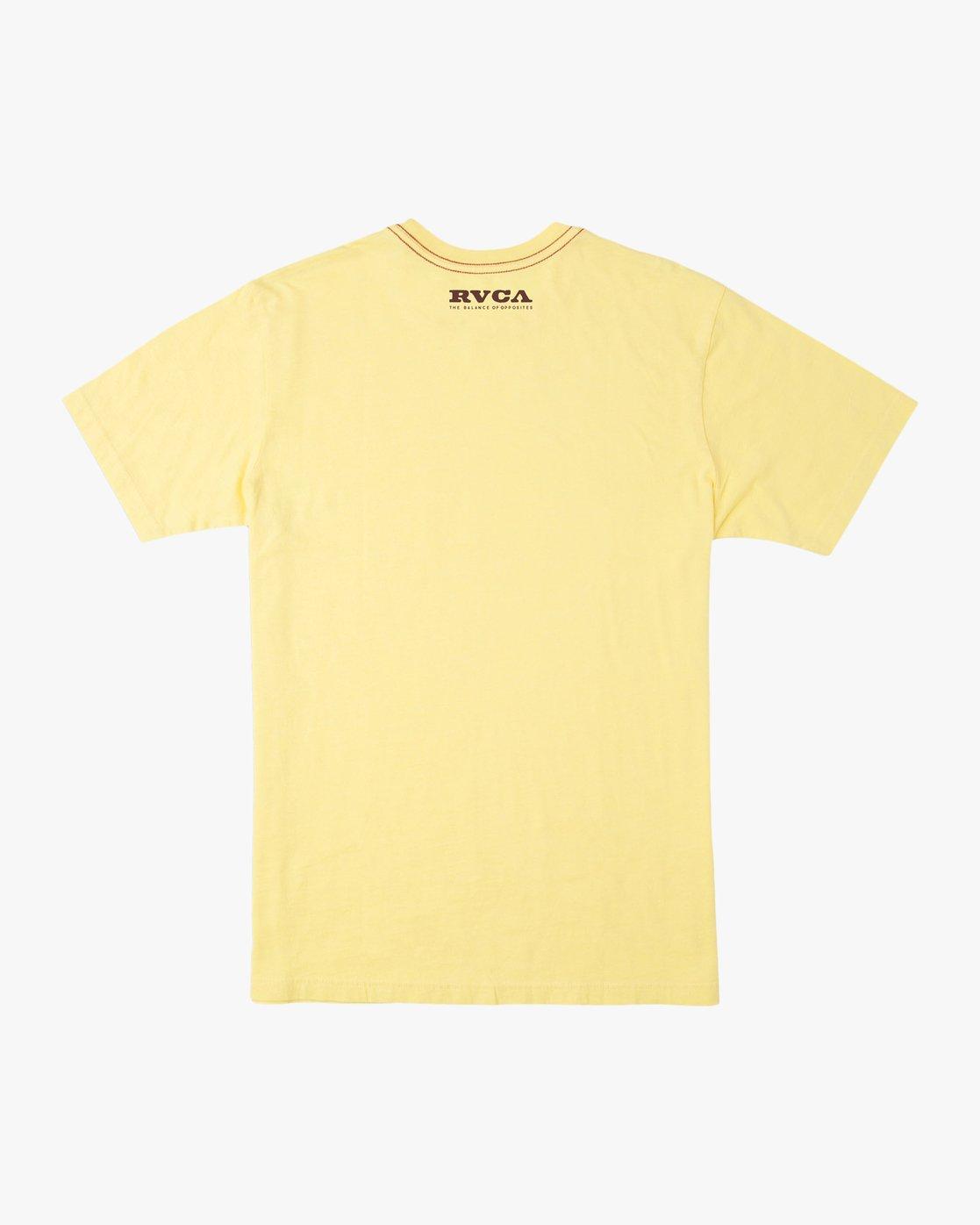 1 Zurich T-Shirt Yellow M430TRZU RVCA