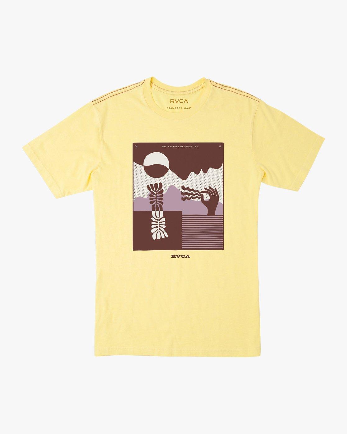 0 Zurich T-Shirt Yellow M430TRZU RVCA