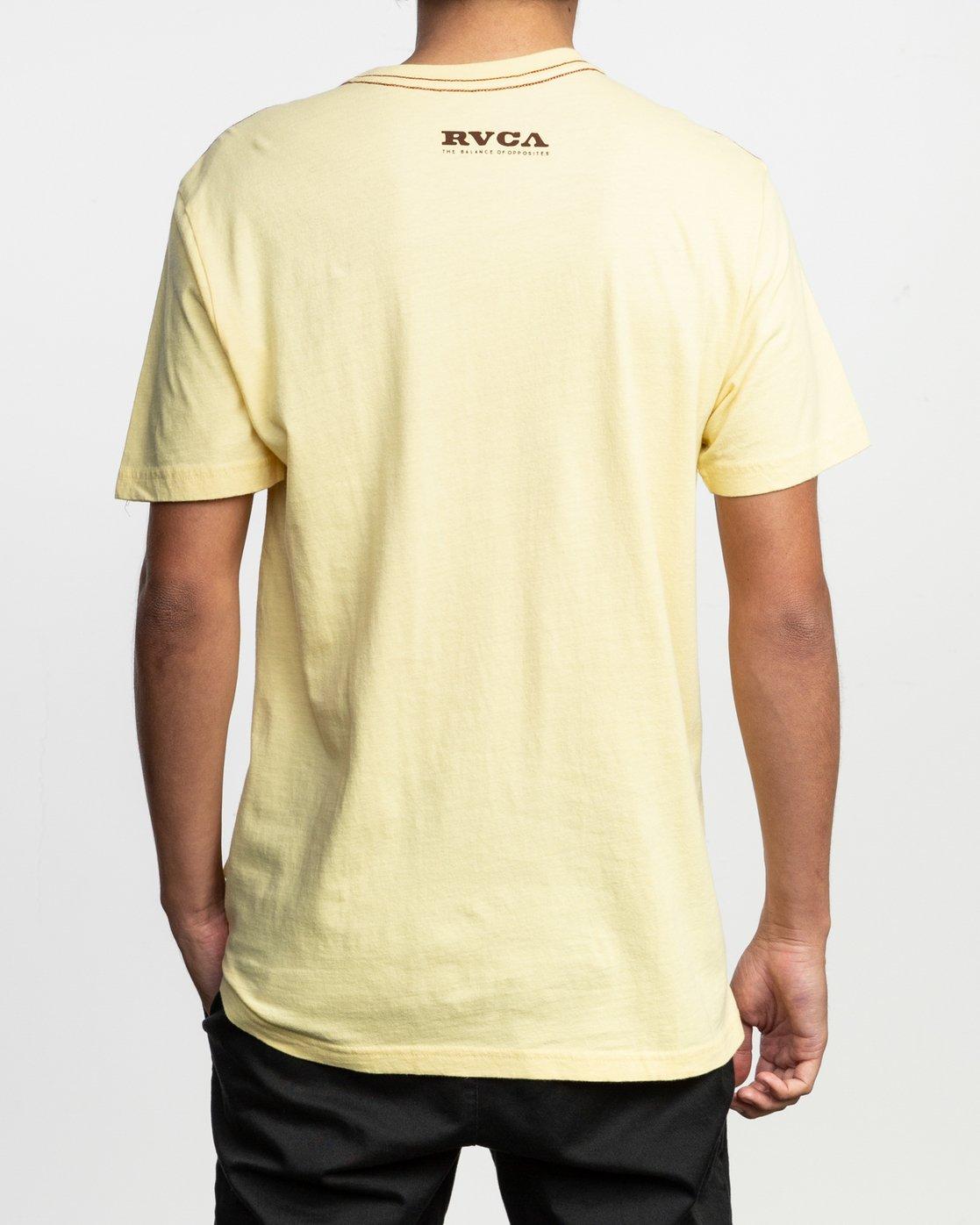 4 Zurich T-Shirt Yellow M430TRZU RVCA