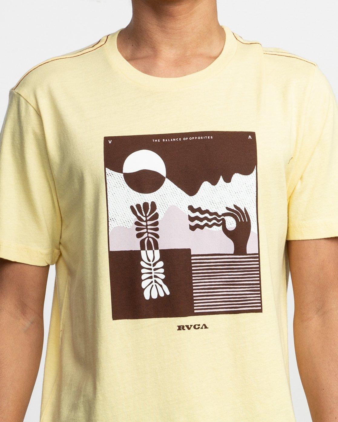 5 Zurich T-Shirt Yellow M430TRZU RVCA