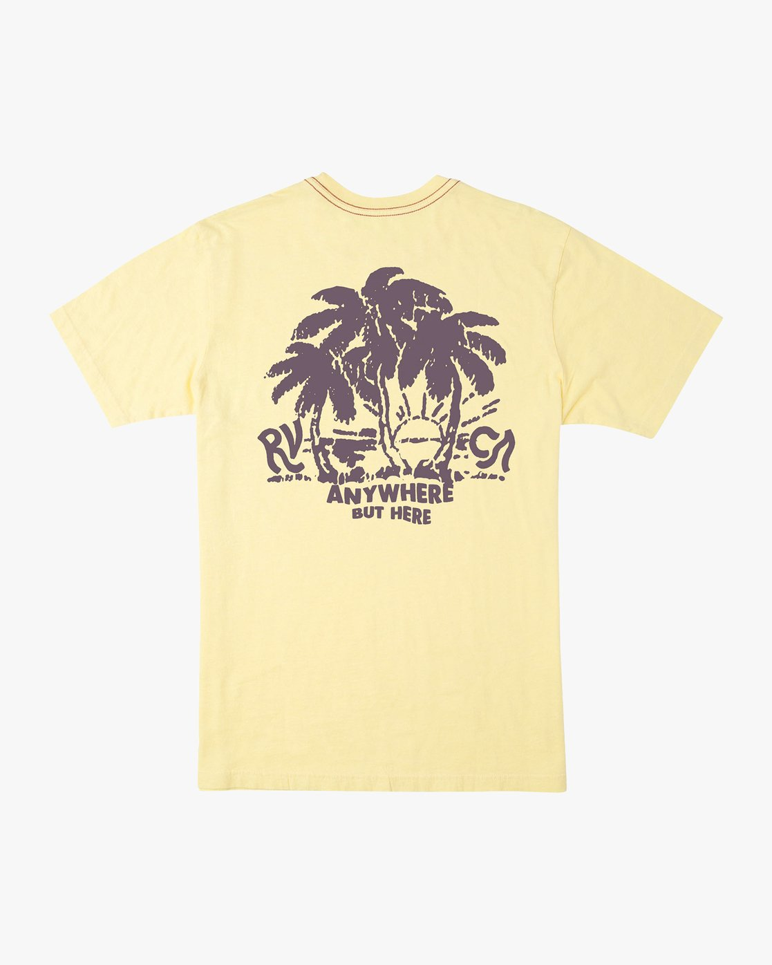 0 Alex Smith Anywhere T-Shirt Yellow M430URAN RVCA
