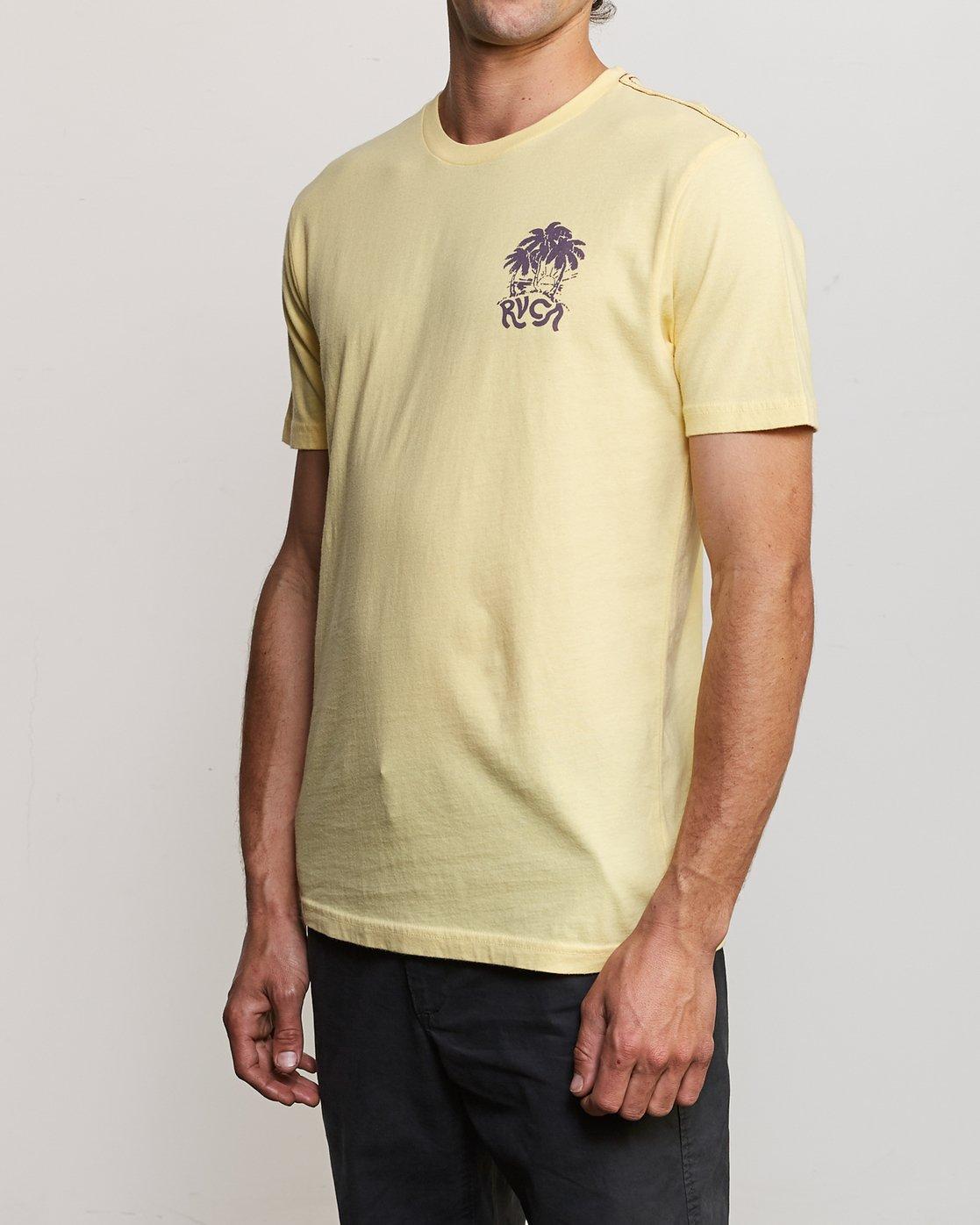 4 Alex Smith Anywhere T-Shirt Yellow M430URAN RVCA