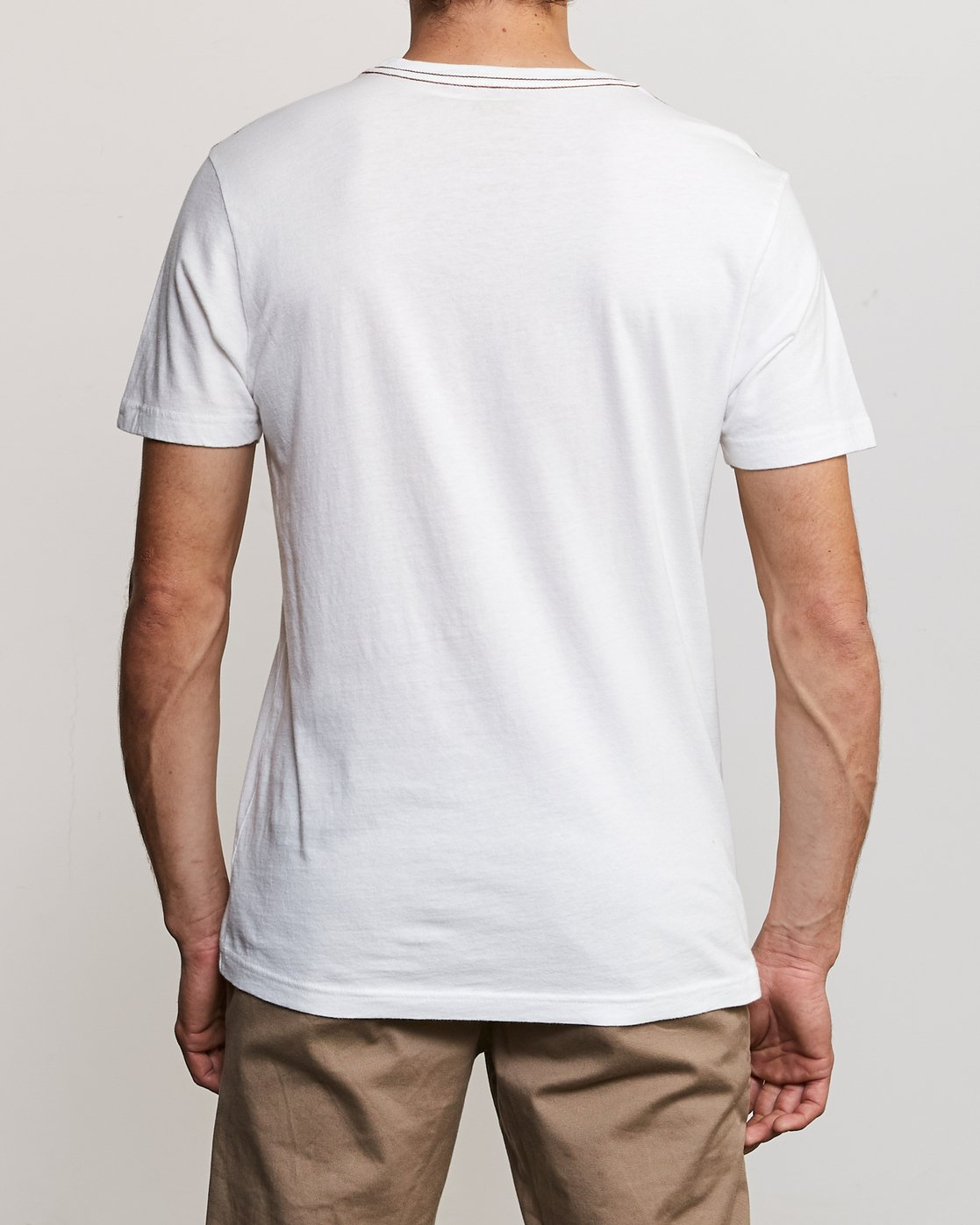 3 Balance T-Shirt White M430URBA RVCA