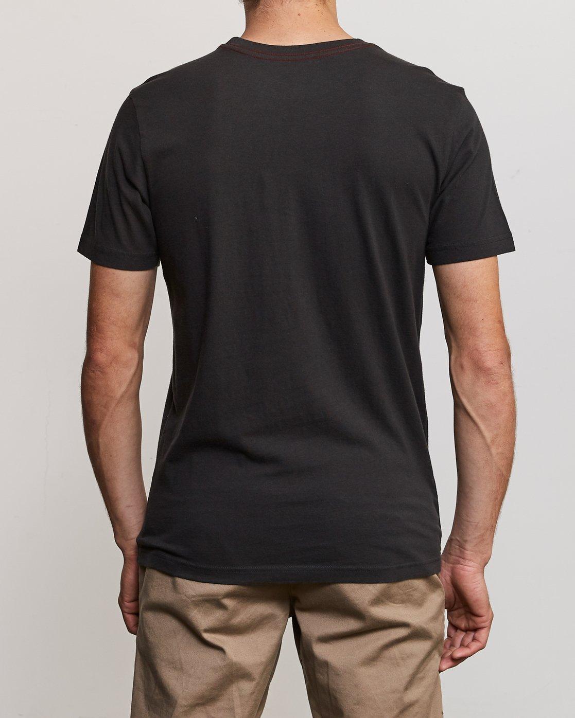 3 Balance T-Shirt Black M430URBA RVCA