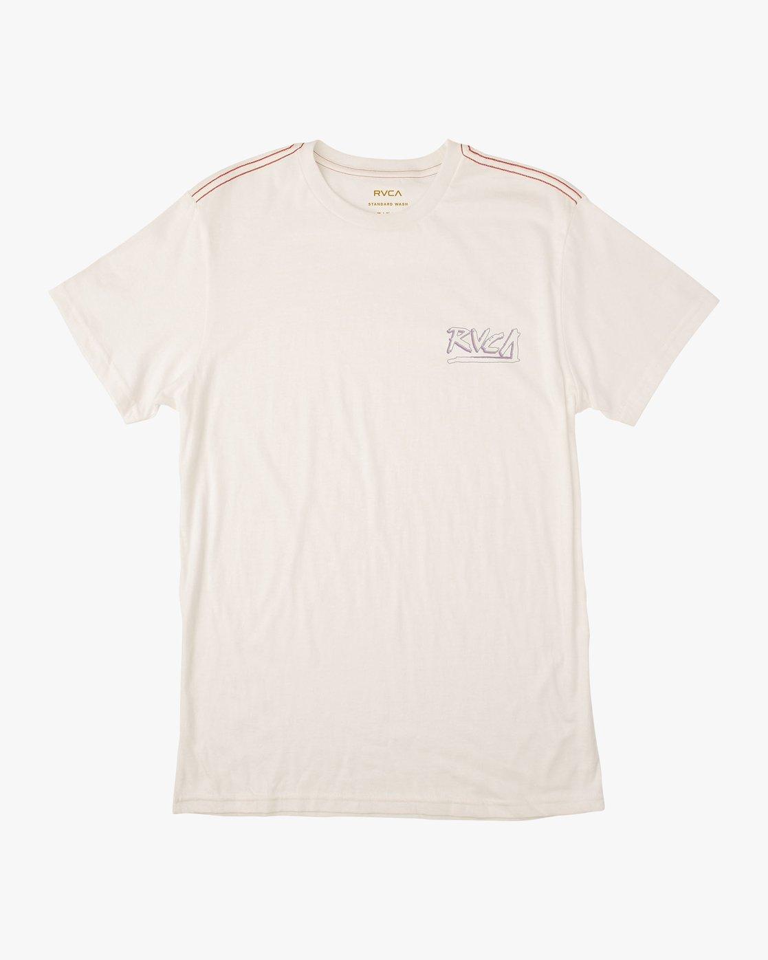 1 Offset T-Shirt White M430UROF RVCA