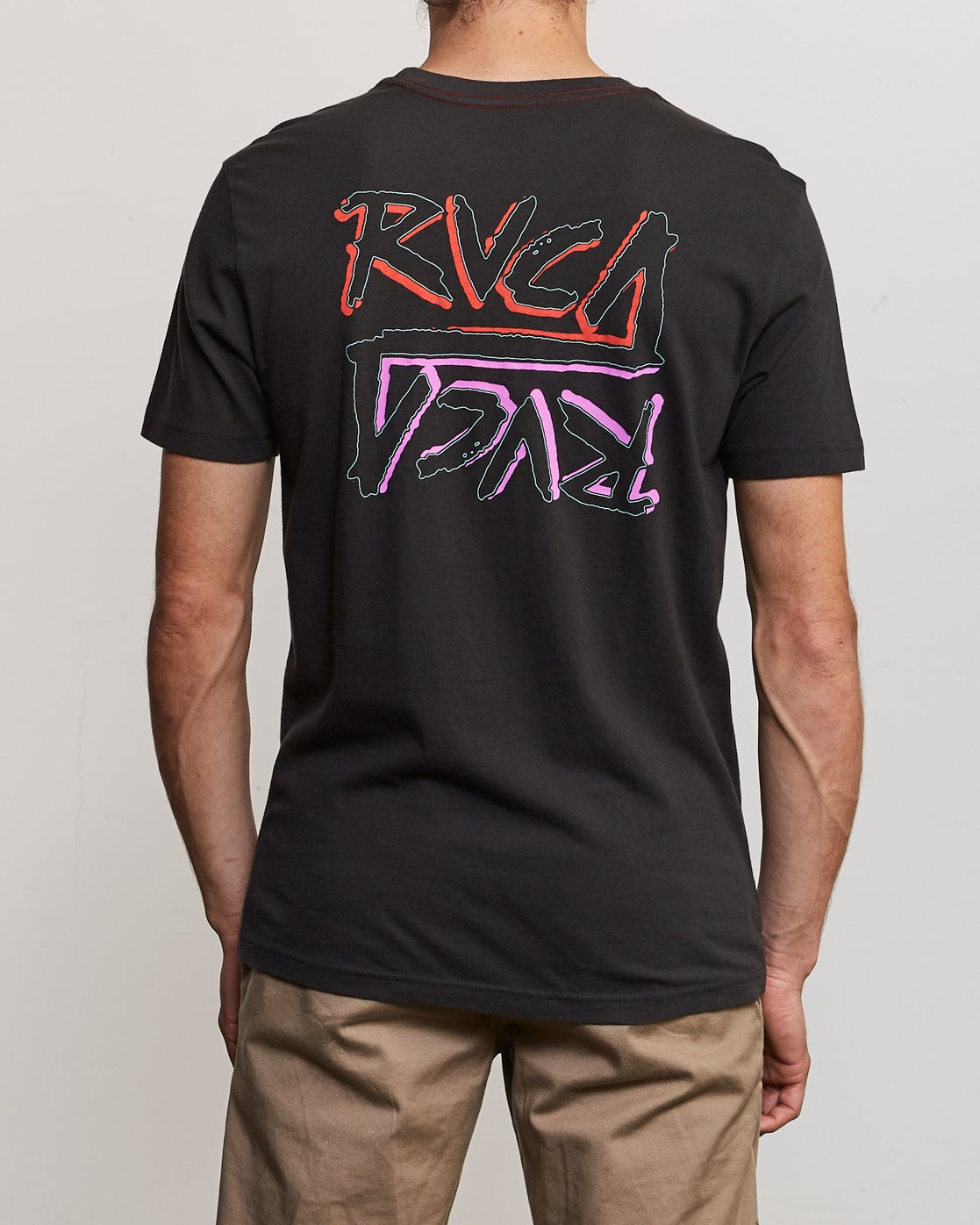 4 Offset T-Shirt Black M430UROF RVCA