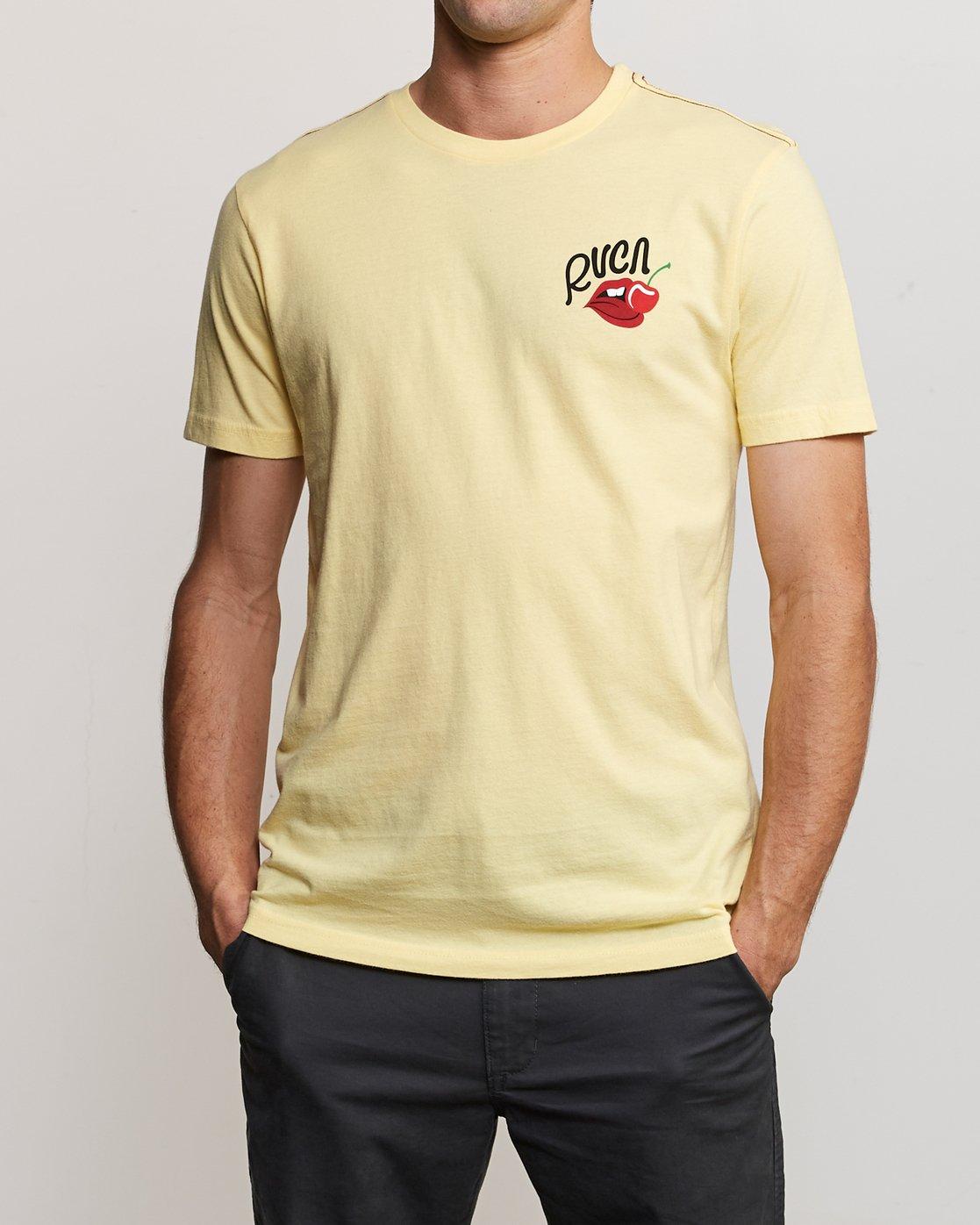 1 Joe Suzuki Tasty T-Shirt Yellow M430URTA RVCA