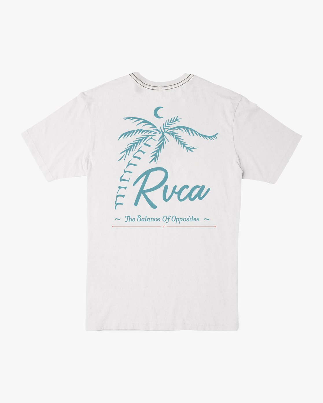 0 Mowgli Tropicale T-Shirt White M430URTR RVCA