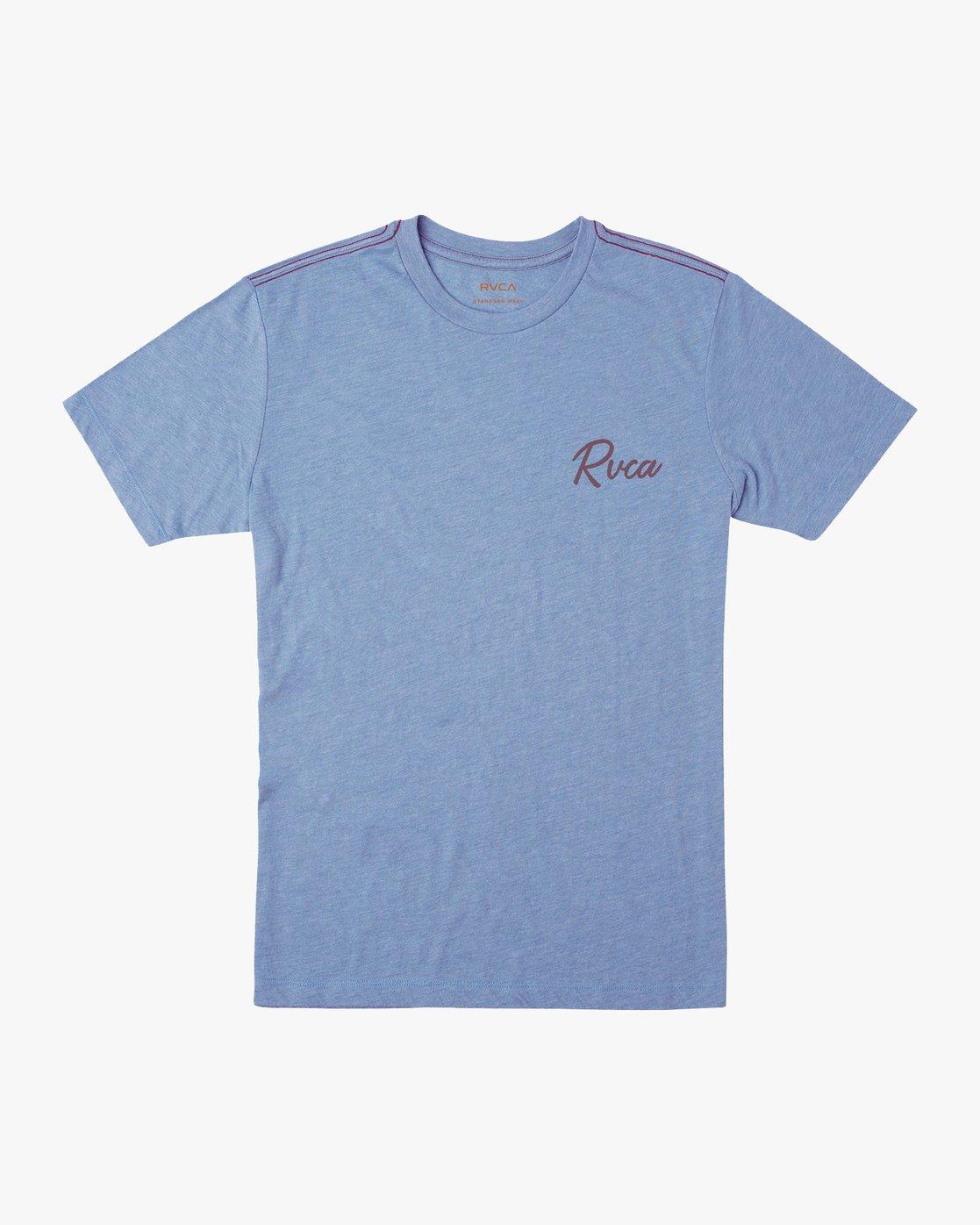 1 Mowgli Tropicale T-Shirt Blue M430URTR RVCA