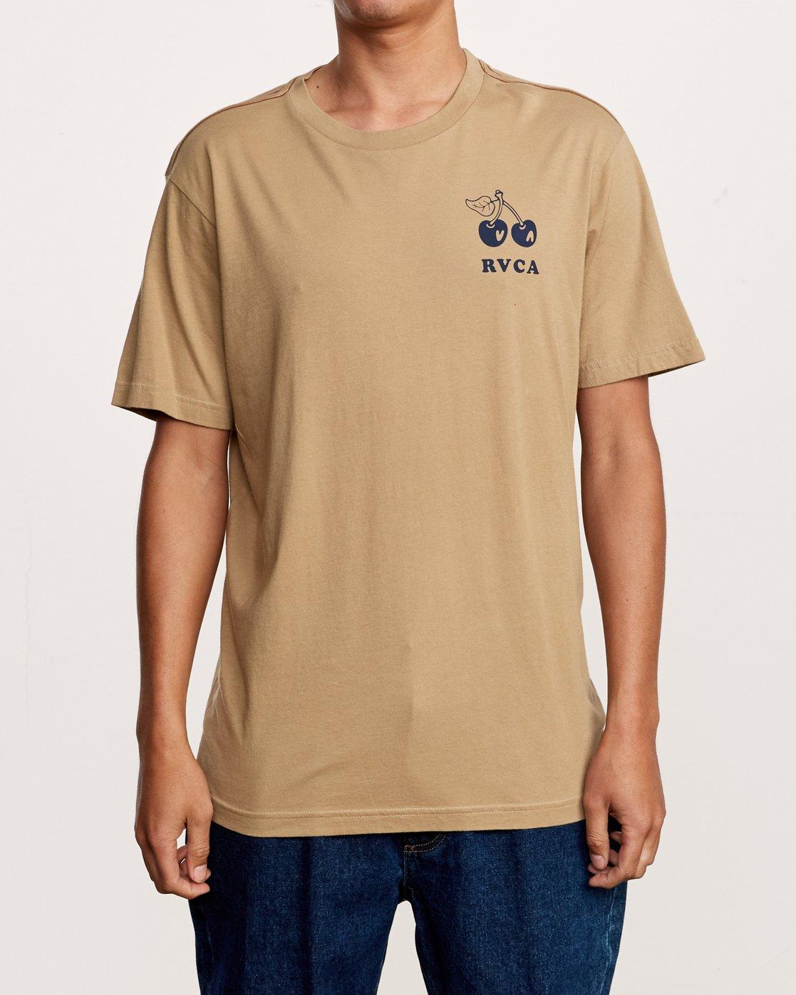 2 Bixby T-Shirt Yellow M430VRBI RVCA