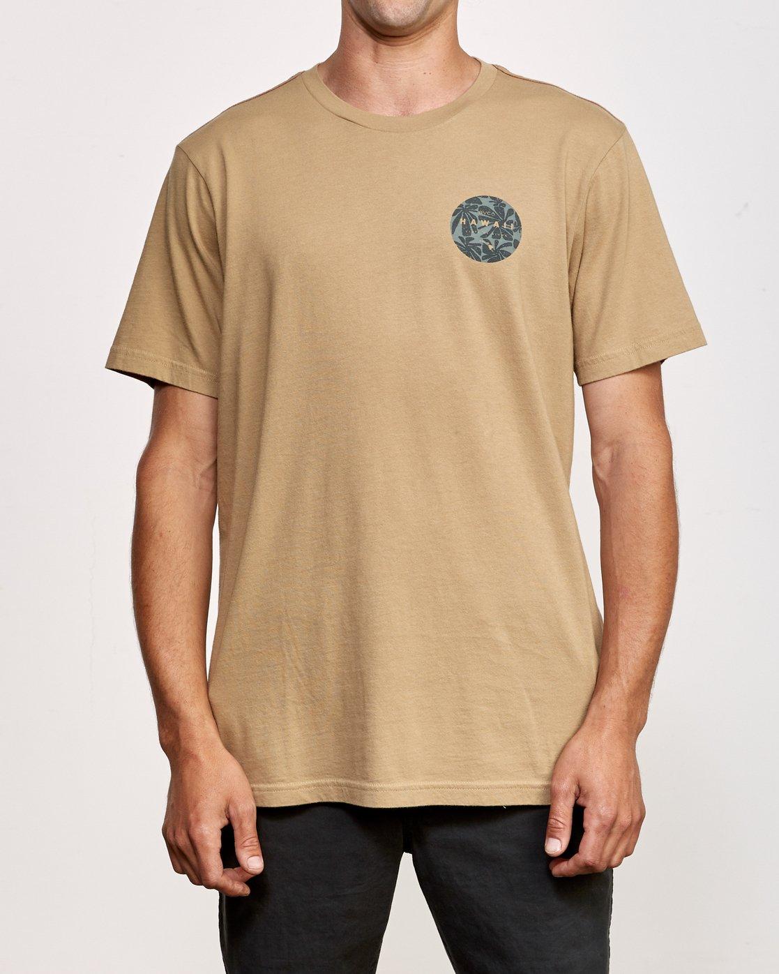 2 Da Aina T-Shirt Yellow M430VRDA RVCA