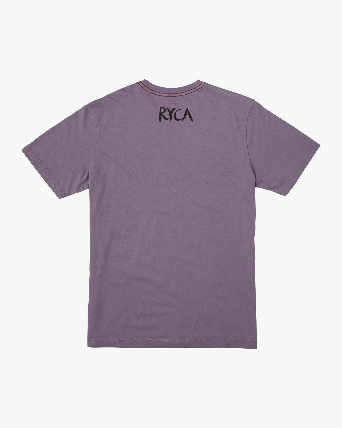 1 Harmony T-Shirt Purple M430VRHA RVCA