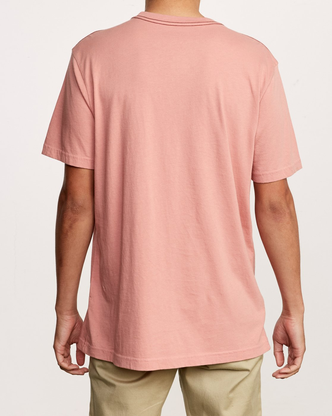 3 Beercroft Polinate T-Shirt Pink M430VRPO RVCA