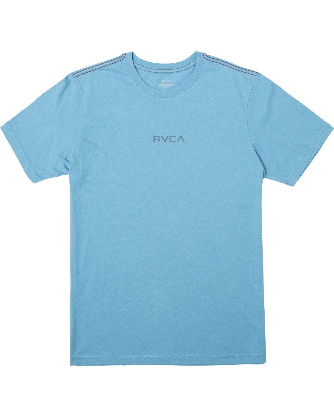 0 SMALL RVCA SHORT SLEEVE TEE Blue M430VRSM RVCA