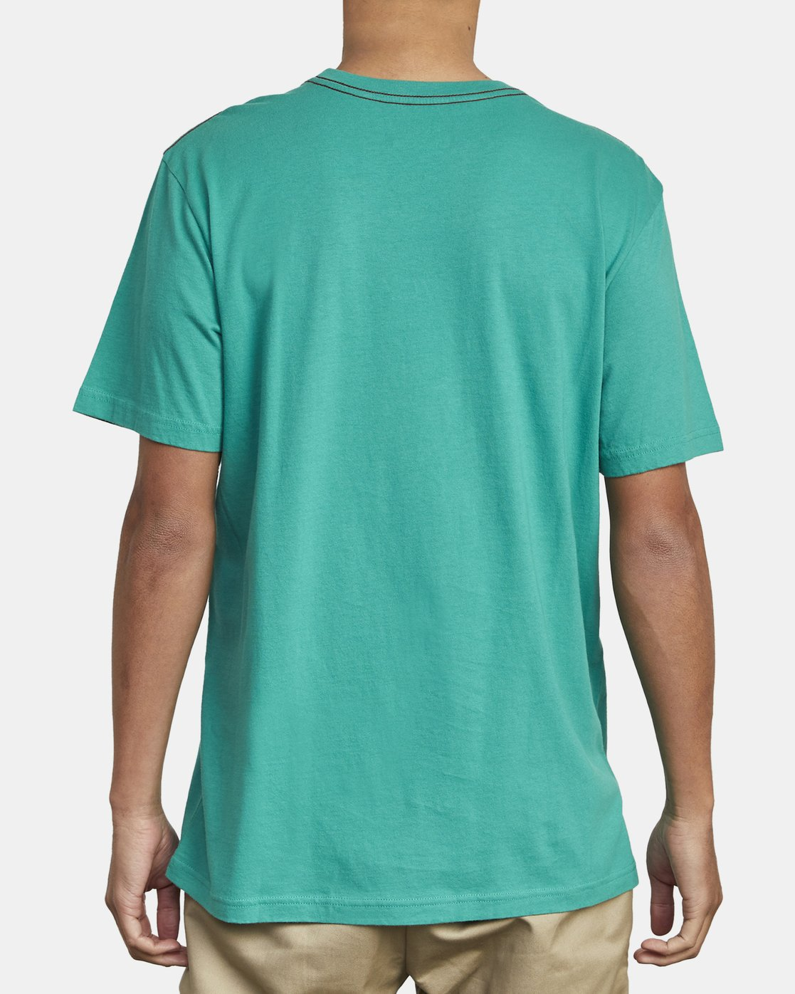 5 SMALL RVCA SHORT SLEEVE TEE Green M430VRSM RVCA