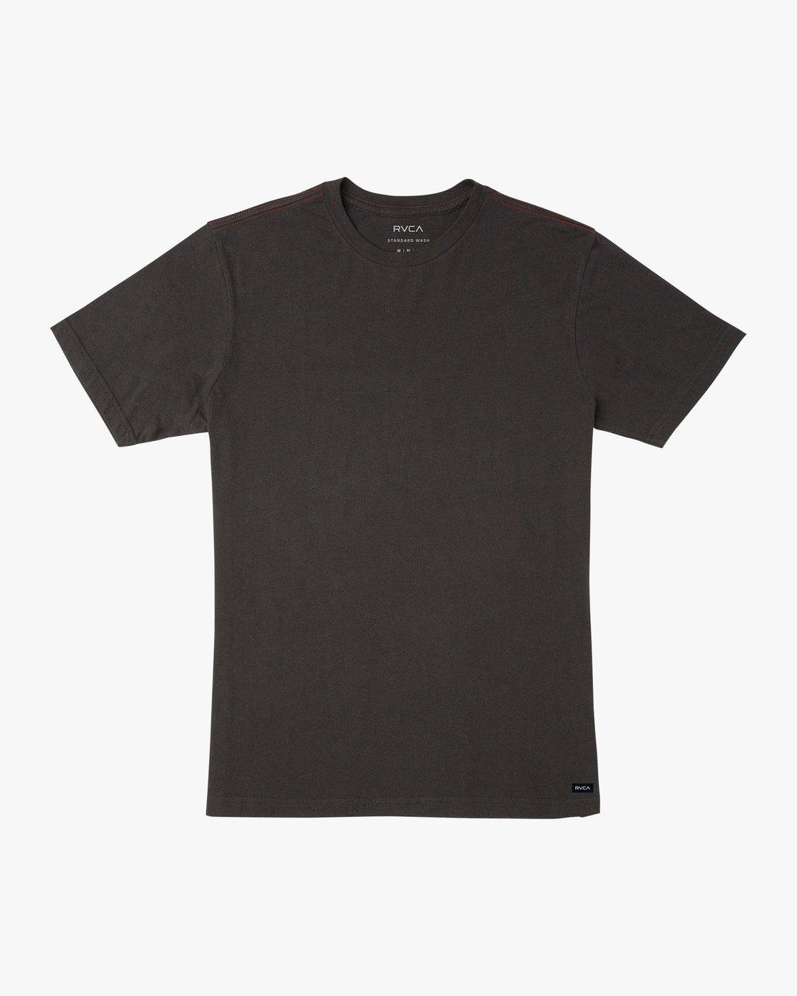 0 Solo Label T-Shirt Black M430VRSO RVCA