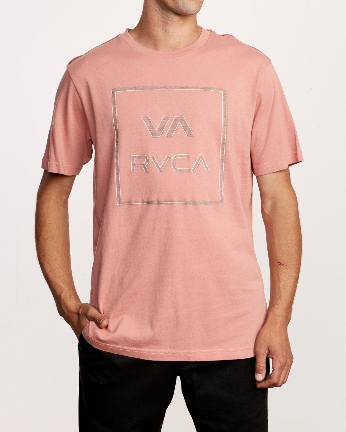 1 Unregistered T-Shirt Grey M430VRUN RVCA