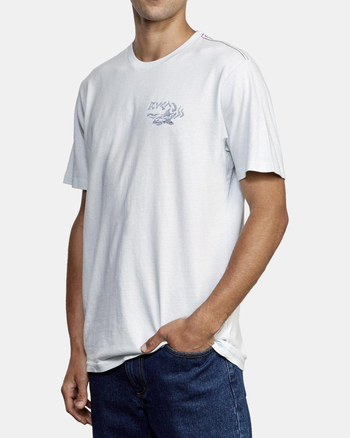 3 Castaway T-Shirt  M430WRCA RVCA