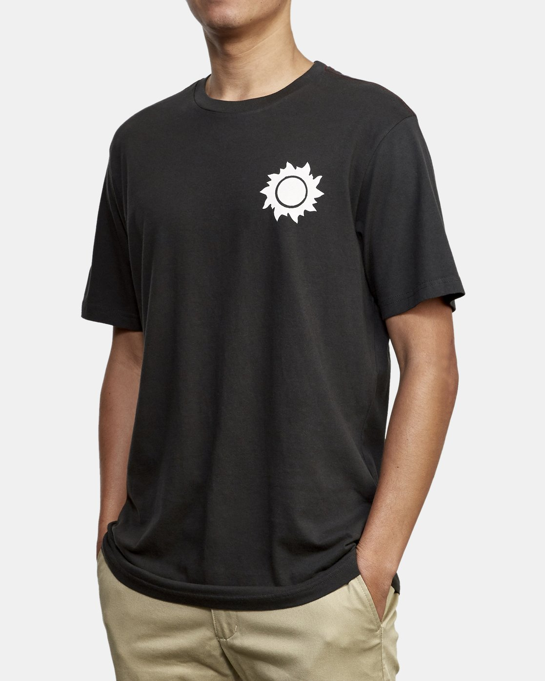 3 Eclipsed T-Shirt Black M430WREC RVCA