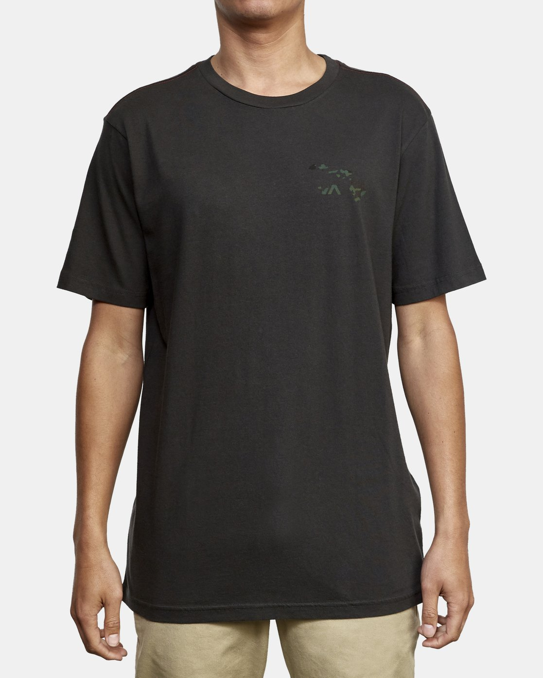 2 Island Hex Fill T-Shirt Black M430WRIS RVCA
