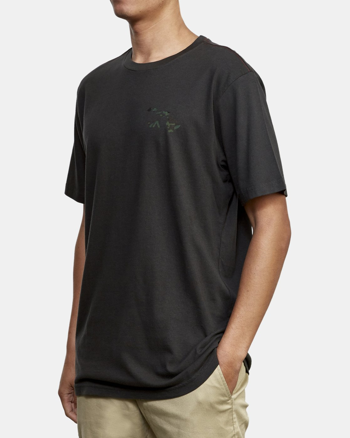 3 Island Hex Fill T-Shirt Black M430WRIS RVCA