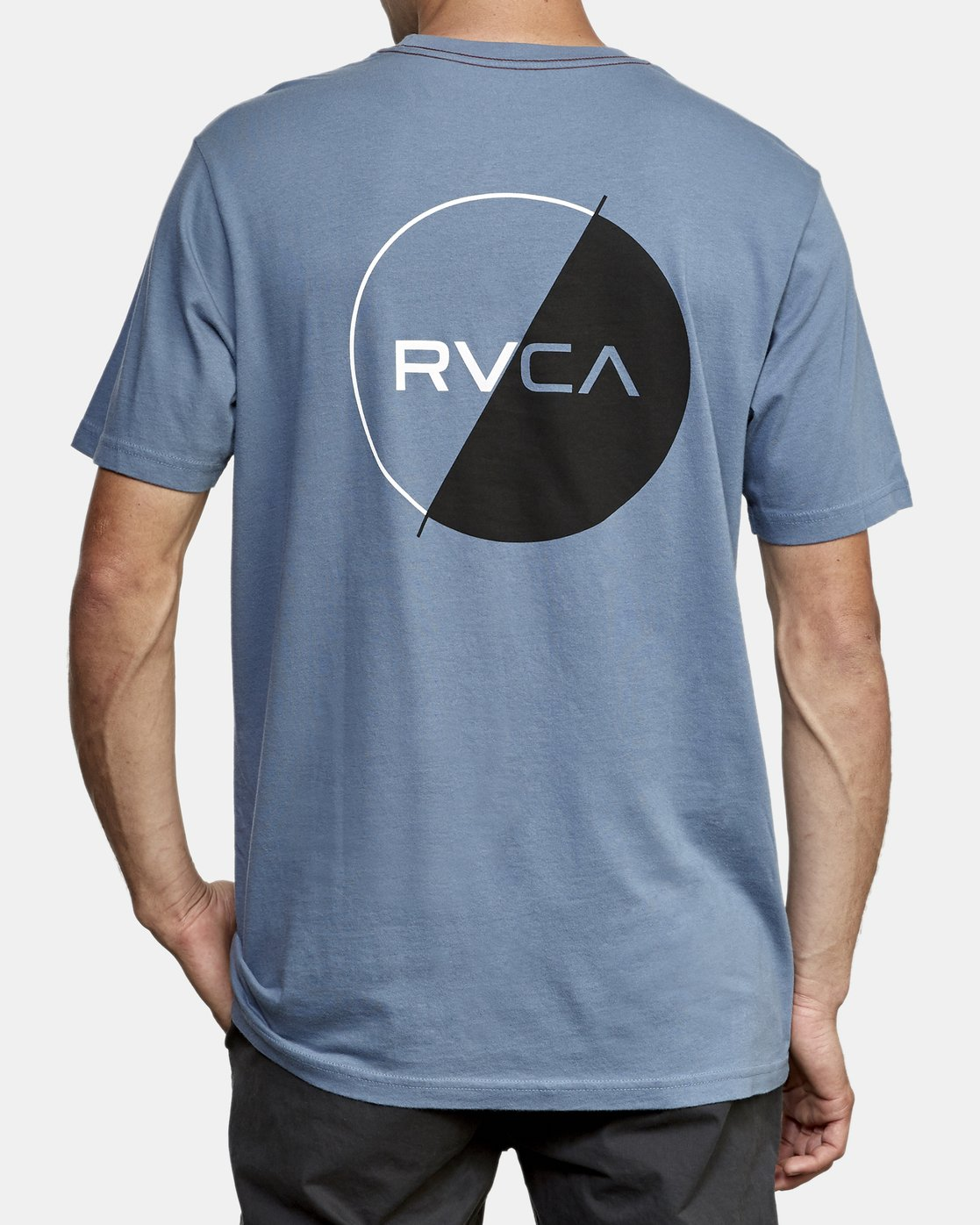 4 Lateral T-Shirt Blue M430WRLA RVCA