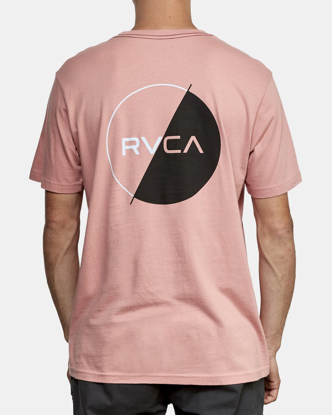 4 Lateral T-Shirt Grey M430WRLA RVCA