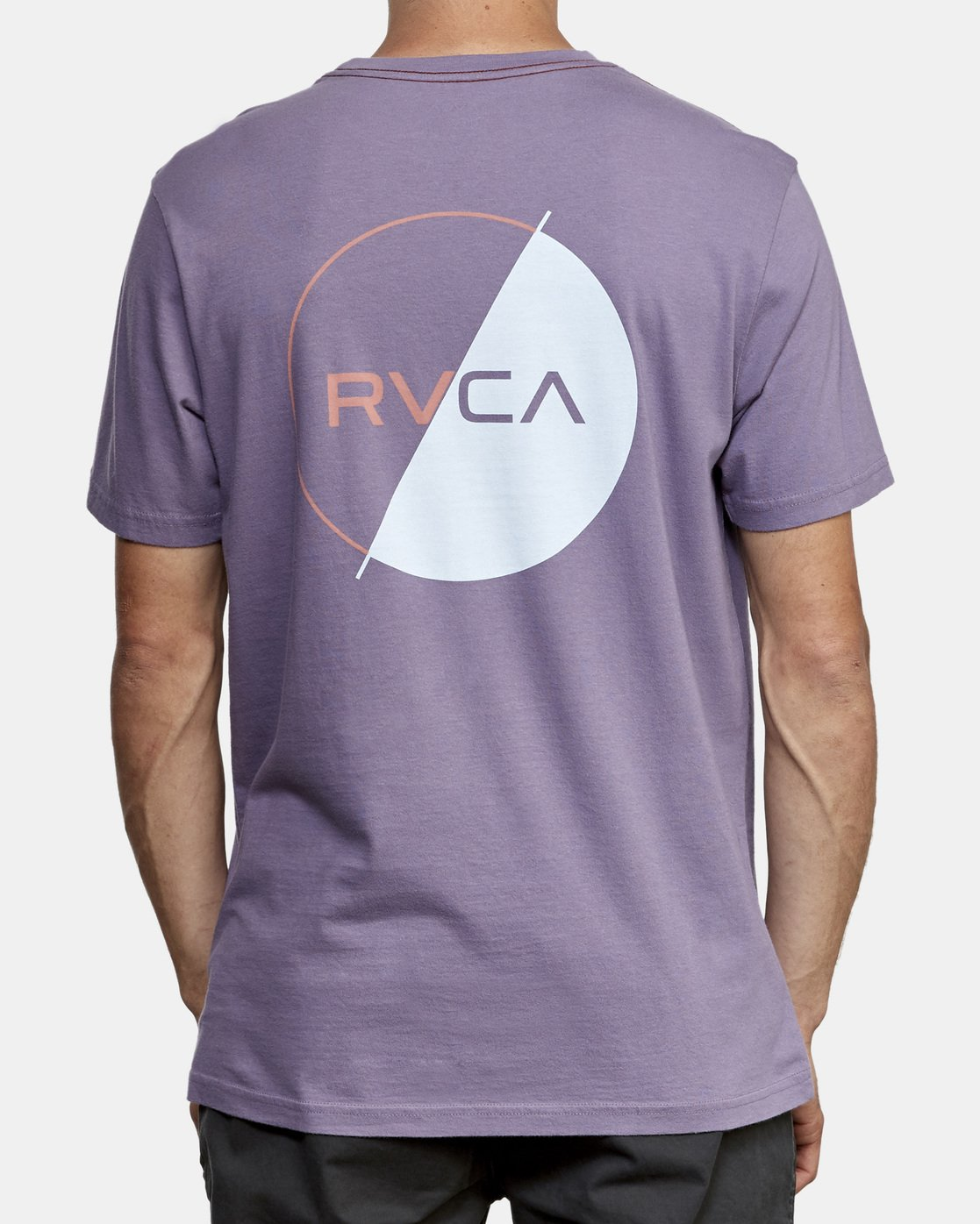 4 Lateral T-Shirt Purple M430WRLA RVCA