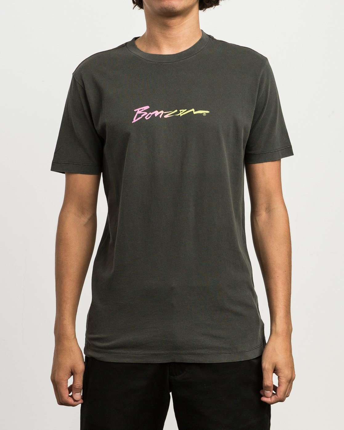 2 Campbell Recognize T-Shirt Black M432SRRE RVCA