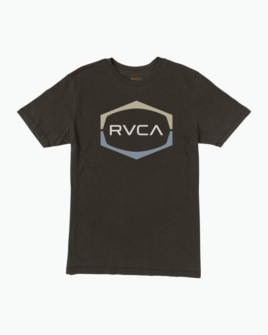 0 Unleaded T-Shirt Black M432SRUN RVCA