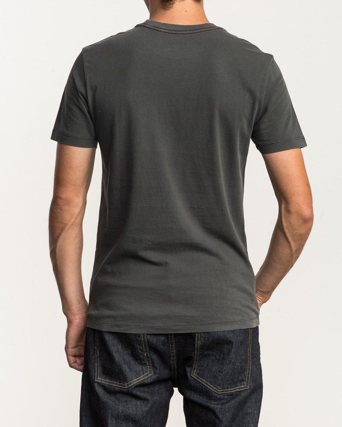 3 Unleaded T-Shirt Black M432SRUN RVCA
