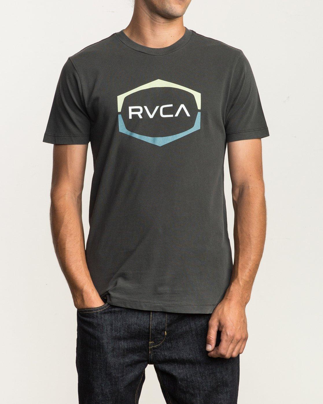 1 Unleaded T-Shirt Black M432SRUN RVCA