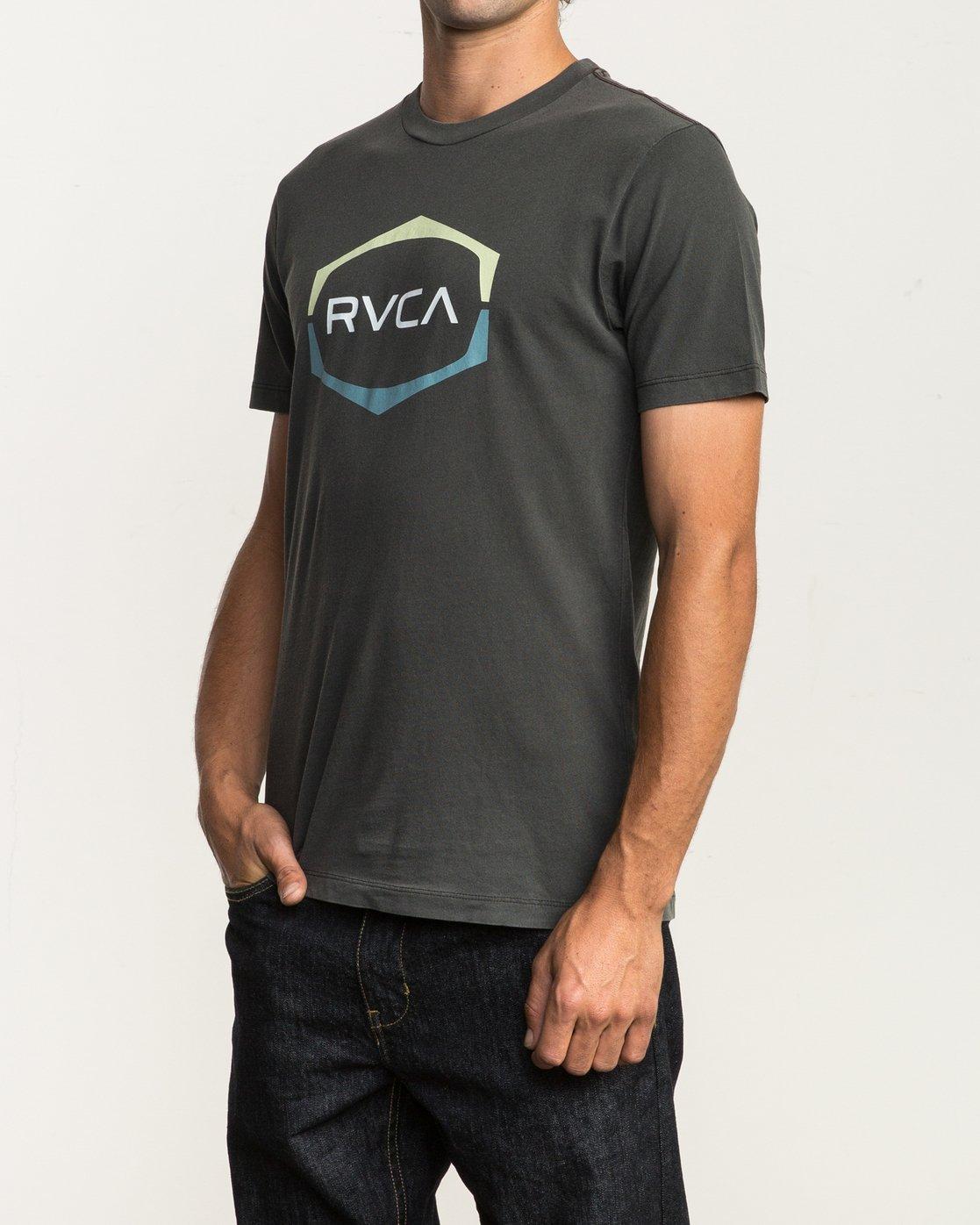 2 Unleaded T-Shirt Black M432SRUN RVCA